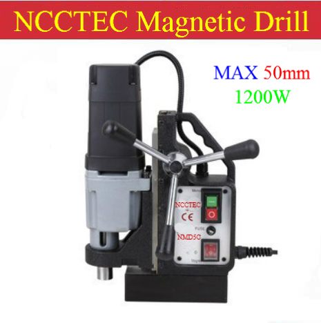 50mm NCCTEC Core drill Magnetic Drills NMD50C | 2'' 14kg net weight | 1200W high quality machine for high quality buyer|drill machine nails|drill bolt|machine hair - title=