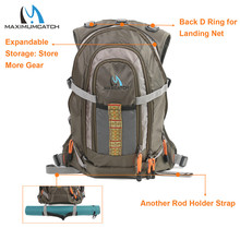 Fly Fishing Vest Fishing Backpack Outdoor sports Backpack Bag Adjustable Belt