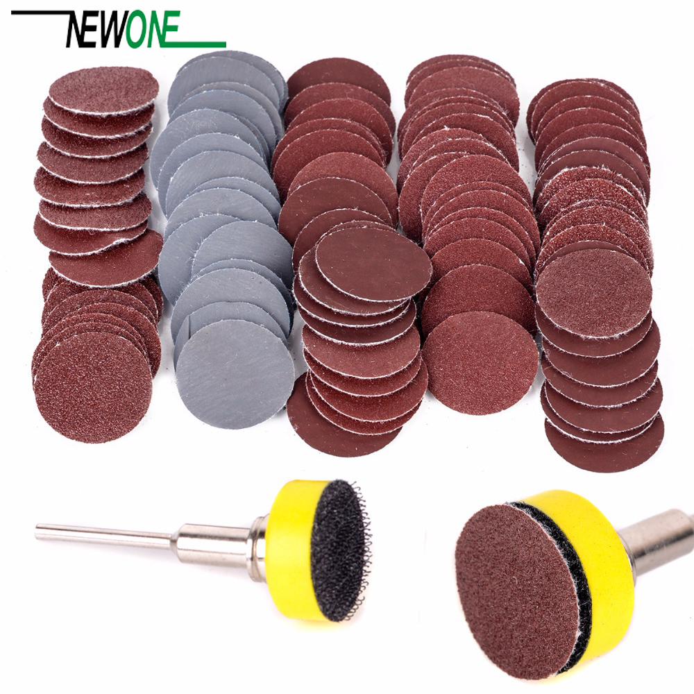 100pcs high quality sanding disc +1'' abrasives hook&loop ...