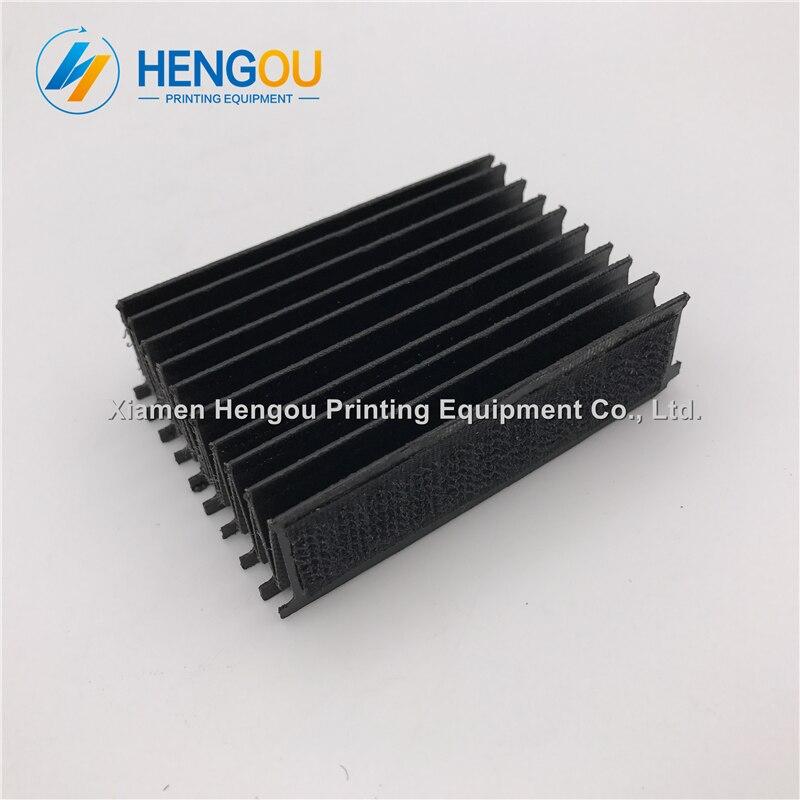10 Stück Hengoucn Cd74 Sm74 Faltenbalg Länge = 75mm L2.072.324 M2.072.023/02 China Post Freies Verschiffen Elegantes Und Robustes Paket