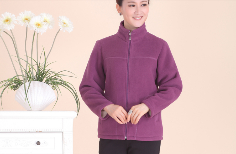 Compare Prices on Plus Size Polar Fleece Jackets Women- Online ...