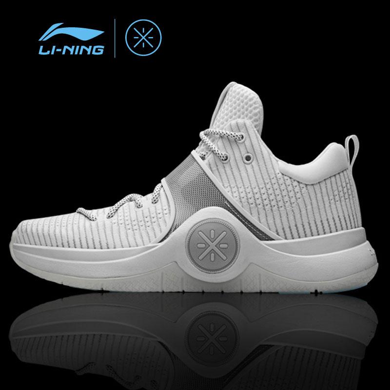 Li-Ning Men WOW 6 'White Hot' Basketball Sport Shoes Cushion Sneakers Li-Ning Cloud Support LiNing Sports Shoes ABAM089 XYL145