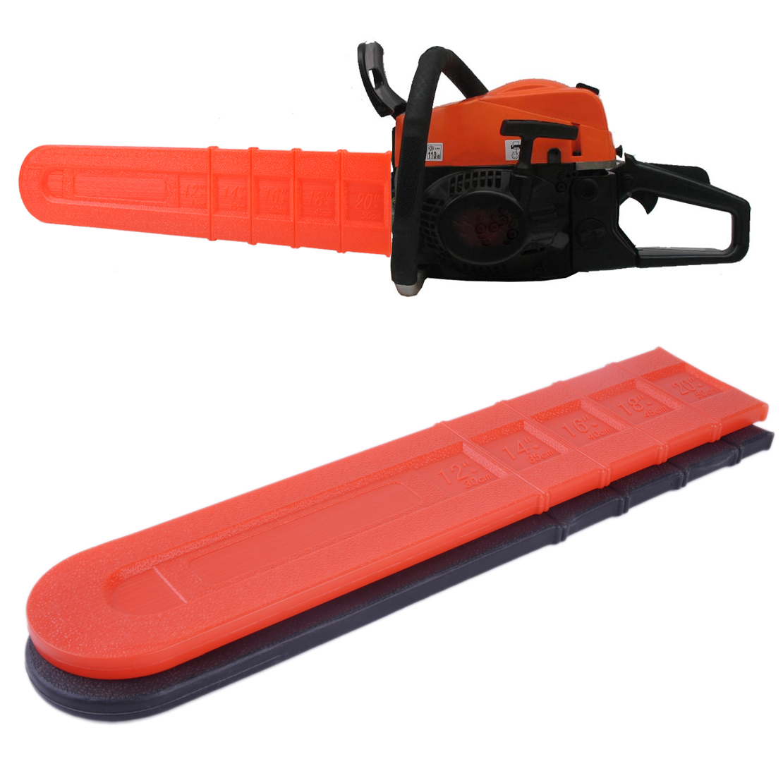 12/'/' 16/'/' 18/'/' Chainsaw Bar Cover Scabbard Protector Universal Guide Plate MR