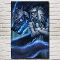 Kindred League Of Legends LoL Game Art Silk Poster Pictures Home Wall Decor Printing 12x18 16X24 20x30 24x36 Inch Free Shipping