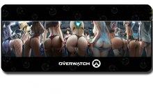 900x400x3 MM OVERWATCHs Logotipo D. VA Ass Tamanho Grande Gaming Mouse Pad Teclado de Mesa Mat Overlock Pad para Gamer
