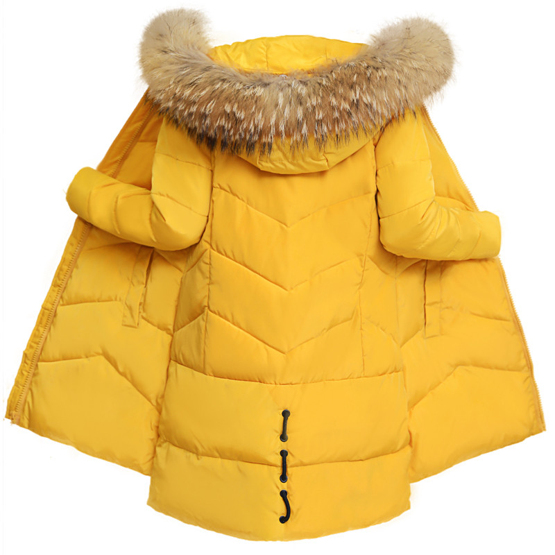 Parkas Ioqrcjv Winter Female Long Jacket 2018 Womens Fake Fur Collar Hooded Warm Jacket Down Cotton Padded Jacket Outwear Parkas S150 A Plastic Case Is Compartmentalized For Safe Storage Jackets & Coats
