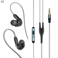 Tinger C40 Earphone And Headphone With Micophone Upgrade Mmcx Cable For Shure Se215 Se535 Se846 Vs