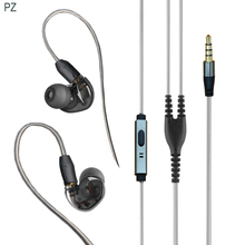 Tinger C40 earphone and headphone with micophone upgrade mmcx cable for shure se215 se535 se846 vs xiaomi hybrid pro earphone