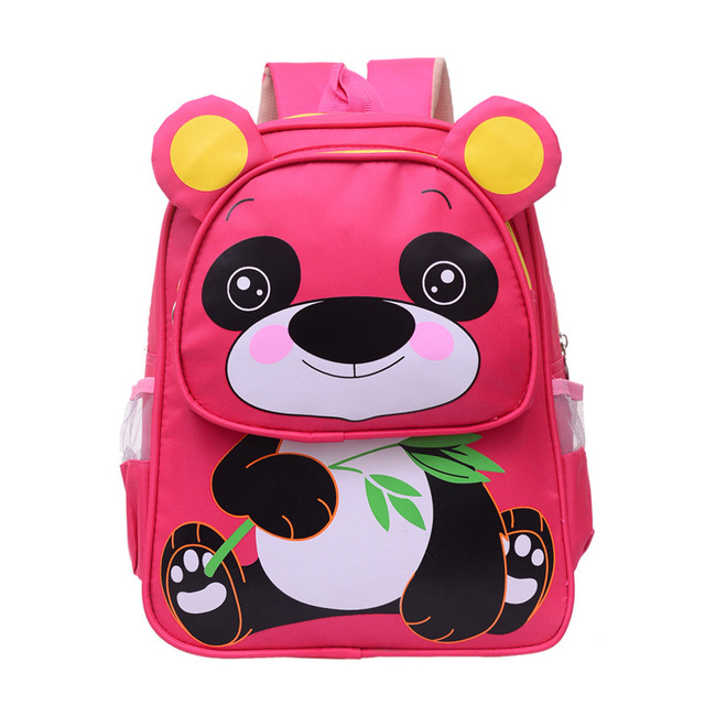 f744447c7b23 2018 Cute Panda School bag For Girls Kids Baby s Bags Children Schoolbag  Kindergarten Mini Backpacks Mochilas Escolares Infantis
