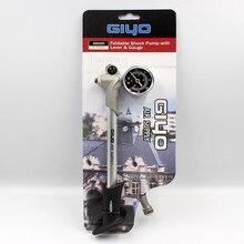 GIYO высокого давления воздуха Шок насос для вилка Задняя подвеска Велоспорт мини-шланг Надувное Schrader Велосипедная вилка GS-02D