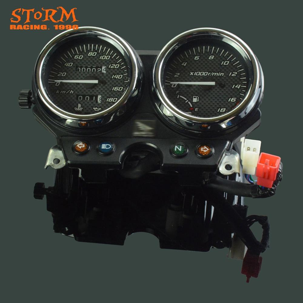 Motorcycle Speedometer Tachometer Odometer Display Gauges For Honda CB250F CBF250 Hornet 250 2000 2001 2002 2003 2004 2005 speedometer clock instrument case gauges odometer tachometer cover for suzuki gsx1400 gsx 1400 2001 2002 2003 motorcycle