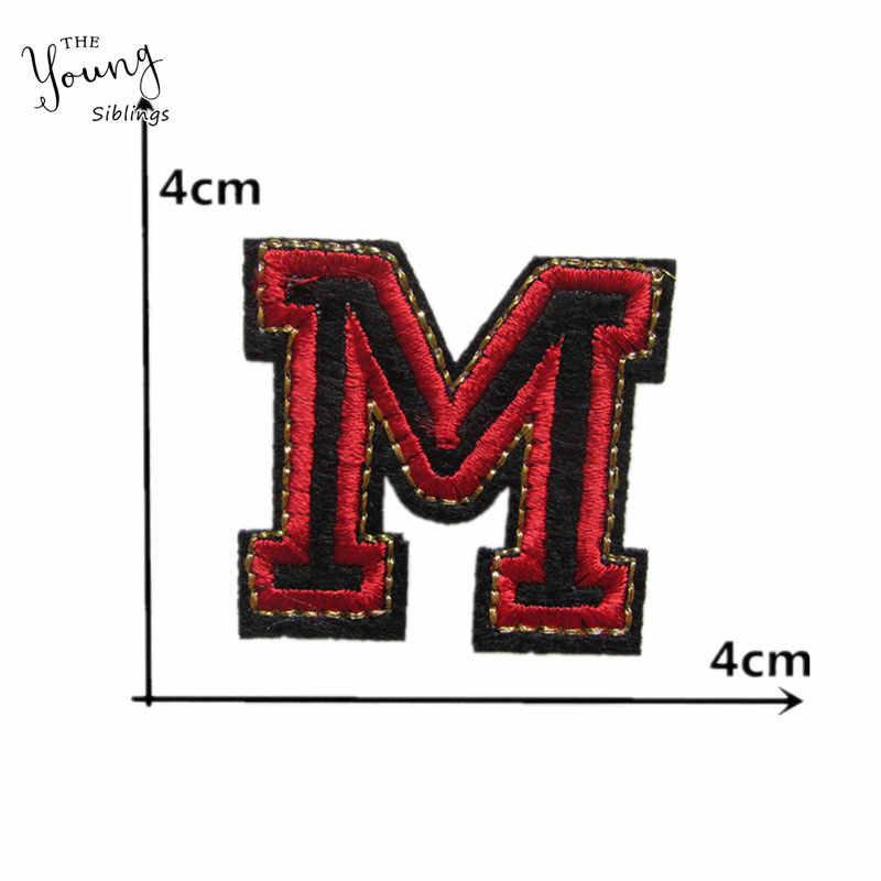 Parches de bordado con apliques adhesivos fundidos en caliente de estilo a la moda DIY insignias de niños Ropa Accesorios artesanía suministros C952-C977