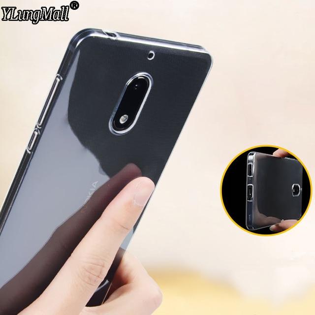 pretty nice 051f5 7f719 US $1.19 |Aliexpress.com : Buy Quality Clear Soft TPU Phone Cases for Nokia  6.1 X6 X5 6 8 9 7 2.1 3.1 5.1 Plus 2018 Transparent Cover for Nokia 5 3 ...