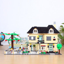 Wange Luxury dream villa Series 34053 Building Block Sets 816pcs Educational DIY Jigsaw Construction Bricks Toys For Children