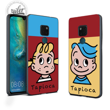 Cute lover set For Cases Huawei Mate 20 Pro lite 10 9 Soft Case for Honor 8 7X 8X