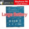 Elephone P6i bateria 100% bateria de backup 2200 mAh Da Bateria de substituição Original para elephone P6i Smartphone