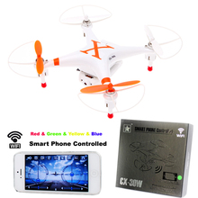 Cheerson CX-30W 4CH 2.4 GHz 6 Axe RC Drone Avec Caméra HD Quadricoptère iPhone Android Wifi FPV Vidéo Quadcopter Helicoptero Dron