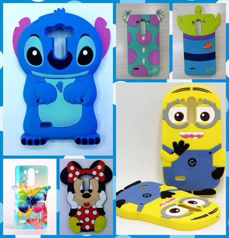 Hot sales! 3D Minions Phone Silicone soft Case Cover LG G3 D850 D851 D855 VS985 Cases Gel Shell - Beijing beyond Technology Co. Ltd. store