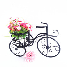 Metal iron bicycle small flower accessories flowers stand for wedding decoration props