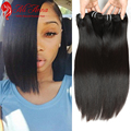 7A Brazilian Virgin Hair Straight 3 Bundles Cheap Human Hair Bundles Straight Virgin Hair Unprocessed Brazilian Straight Hair