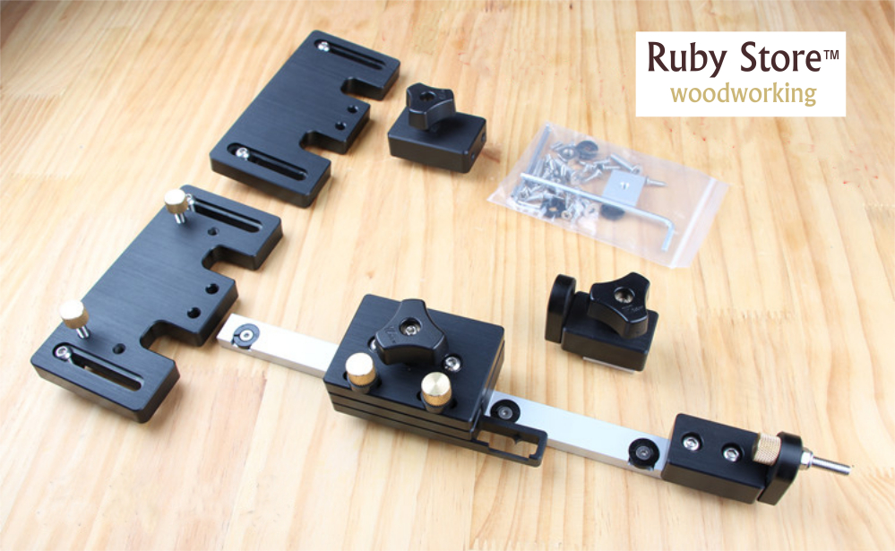 Accesories for Table Saw Fence System without Aluminium Fence and Tracks