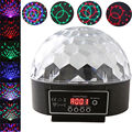 DMX512 RGB LED Crystal Magic Ball Stage Effect Light Digital Festival Christmas Party Disco Bar Club DJ KTV Decoration Lamp
