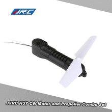 Original JJRC H37-03 CW Motor e Hélice Set Combo para o JJRC H37 E50 Selfie Drone RC Quadcopter