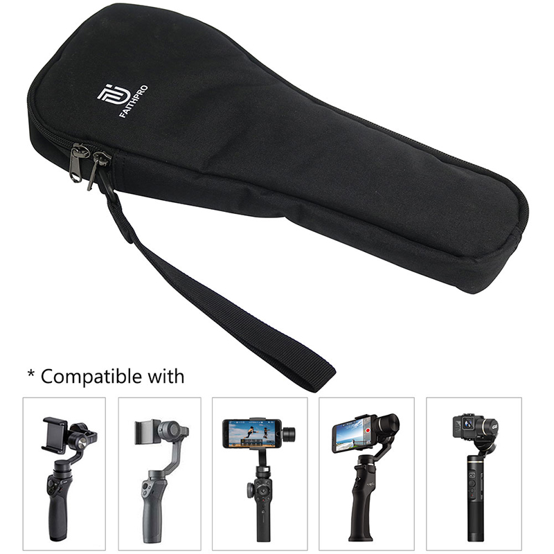 FAITH PRO Portable Handheld Storage Bag Handbag Handheld Gimbal Carrying Case for Eyemind DJI OSMO ZHIYUN