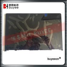 Oryginalny nowy 13.3 cal dotykowy Digitizer dla Lenovo Yoga 2 13 LP133WF2 SPA1 LCD ekran zgromadzenia z ramą 1920*1080 wymiana