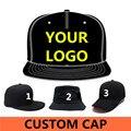 Pequeño OEM 50 unids! 50%-60% coste de envío de descuento! Hip-Hop Snapback Gorras de Béisbol de encargo 3D Insignia Del Bordado, Venta Al Por Mayor del Equipo del Sombrero
