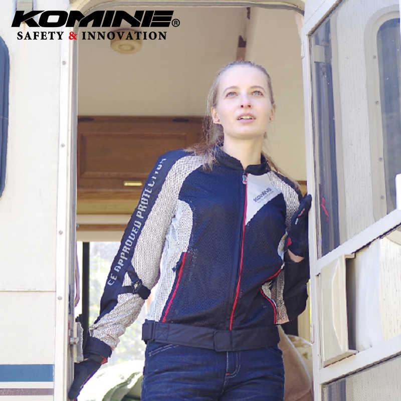 KOMINE JK-098 мотоциклетные рыцарские ездовые весенне-летние ветрозащитные дышащие крутые костюмы для верховой езды