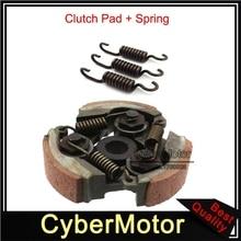 Heavy Duty Steel Clutch Pad With Extra Spring For 47cc 49cc Pocket Bike Mini Moto Dirt Bike Crosser Quad ATV
