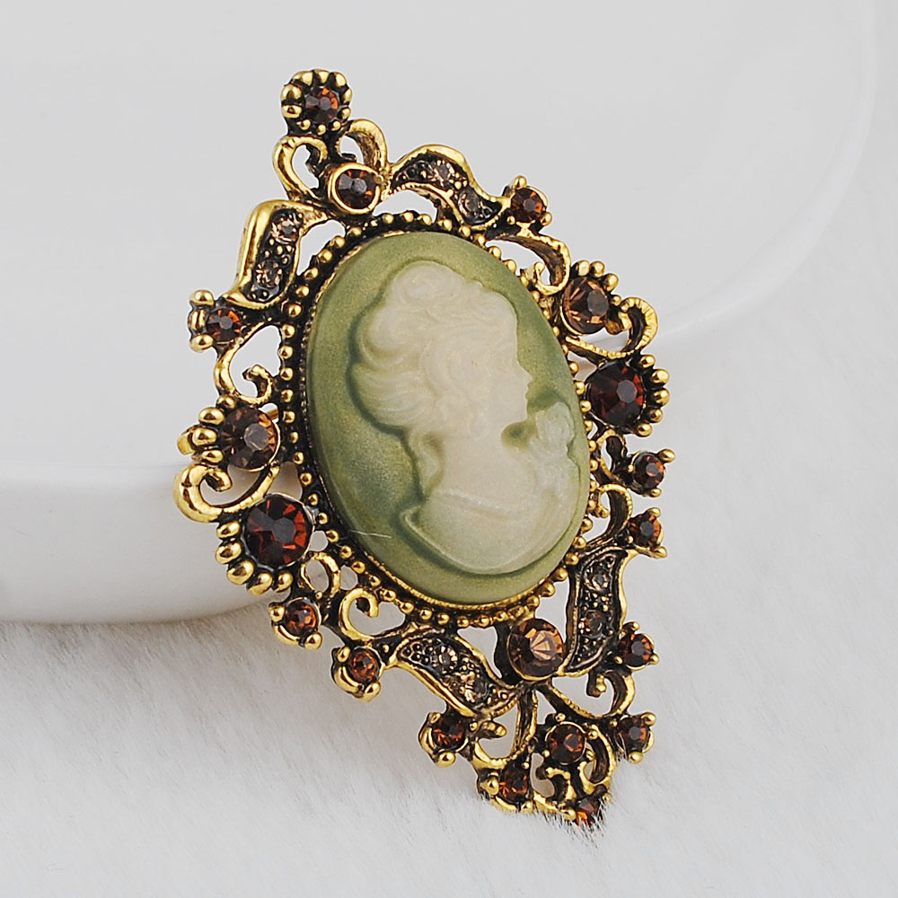 Me pakicë! Clear Auste Crystal Rhinestone Vintage Style Fashion - Bizhuteri të modës - Foto 6