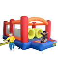 YARD Outdoor Playing Inflatable Bouncer Combo Obstacle Course with Slide Bounce House for Kid Birthday Party