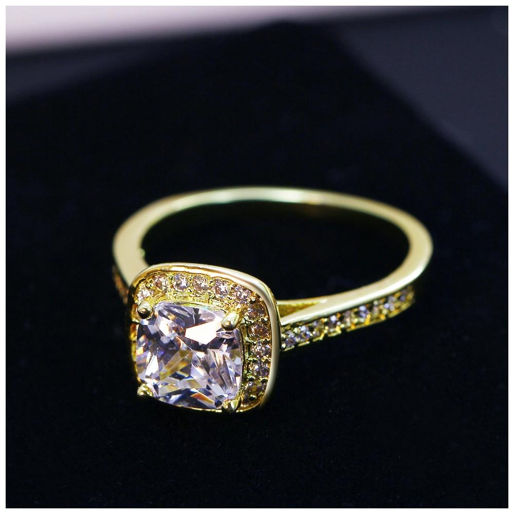 DreamCarnival1989 Poroka Ženski nakit Rodij Zlata Barva Veliki - Modni nakit - Fotografija 4