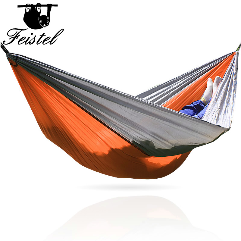 Outdoor Hammock Portable Parachute Cloth 1 Person260*140cm