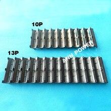 18650 batterie 10P 13P support pour 10S 36V 13S 48V batterie pack 2*10 2*13 étui en plastique 18650 lithium batterie support