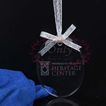 Free Shipping 30 pcs/lot Hanging Glass Pendants Holiday Ornaments with engraving