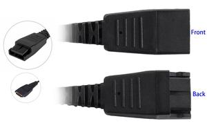 Image 5 - VoiceJoy 2.5mm Headset adapter Quick Disconnect to 2.5mm jack cord ,Compatible with GN headsets