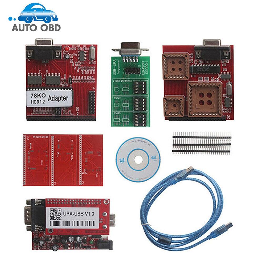 New UPA USB Programmer V1.3 UPA USB Full Adapters UPA Chip Tuning Tools ECU Programmer Serial Programmer,UPA USB Programmer