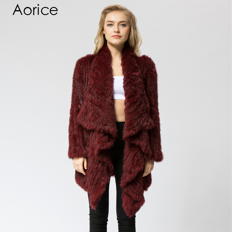 Popular Red Rabbit Fur Coat-Buy Cheap Red Rabbit Fur Coat lots ...