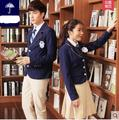 Uniform high school British Uniform boys pants suit for school Winter Knitted Jacket Suit school uniform