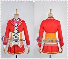 Figura de Acción del Anime LOVE LIVE 2 Kousaka Honoka SOLEADO DÍA CANCIÓN Uniforme traje de Cosplay conjunto Completo de Disfraces de Halloween para Las Mujeres