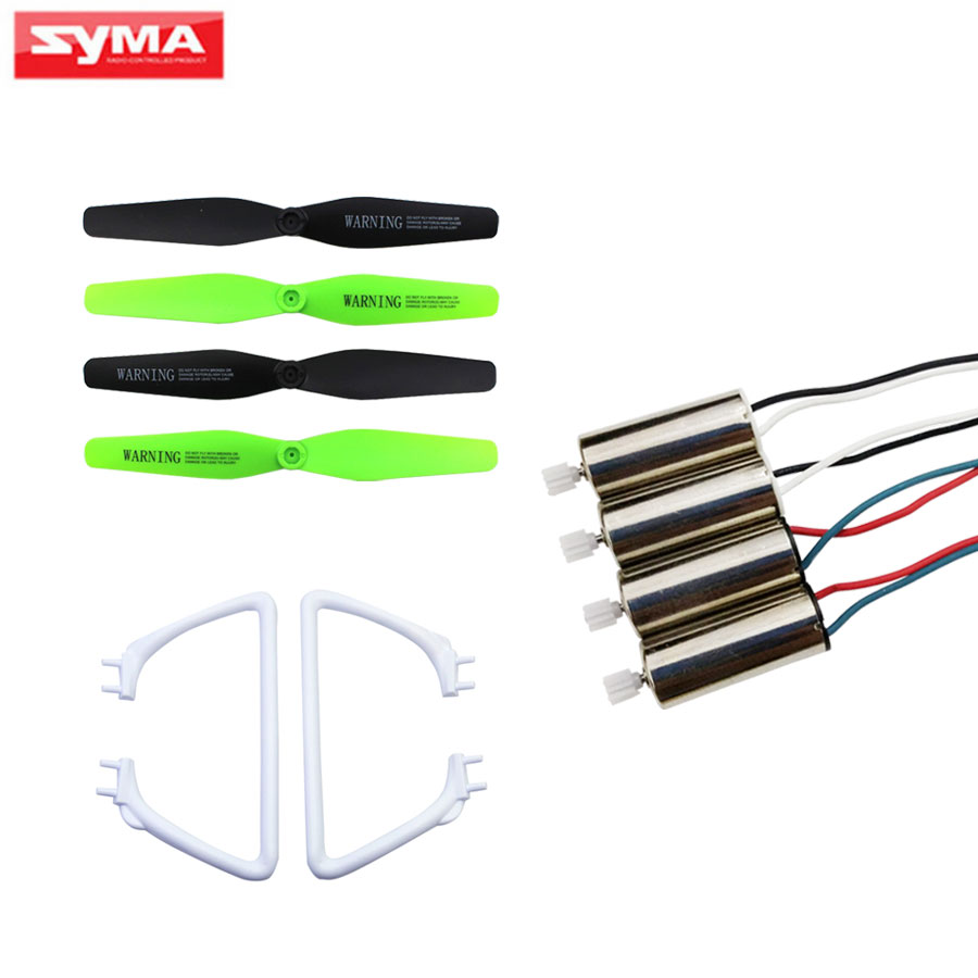 Original Syma X54HW X54HC CW CCW Motor RC Quadcopter Spare Parts Propellers Blade Engine Full set Replacements Accessories original accessories mjx b3 bugs 3 rc quadcopter spare parts b3 024 2 4g controller transmitter