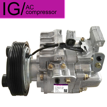 New Air Conditioning Compressor For Mazda 6 2.0 2003-2008 A/C AC Compressor GJ6A-61-K00C H12A1AF4DV H12A1AF4DW H12A1AK4D