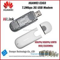 Wholesale Original Unlock 7 2Mbps HSDPA HUAWEI E303 3G HSDPA USB Modem And HiLink USB Modem