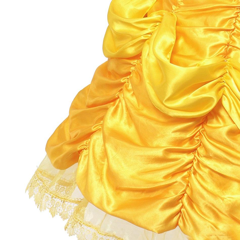 Girls Belle Costume (5)