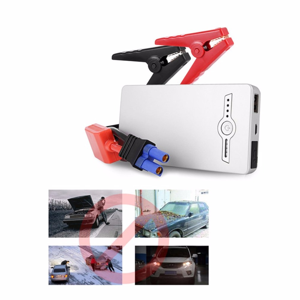 68800mAH Car Jump Starter 4 USB Portable Mini Car Emergency Booster <font><b>Battery</b></font> Charger Power Bank Promotion Multi-Function Starting