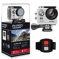 AKASO 4K Action camera Original EK7000 Remote Ultra HD 4K WiFi 1080P 60fps Sports Waterproof pro Camera