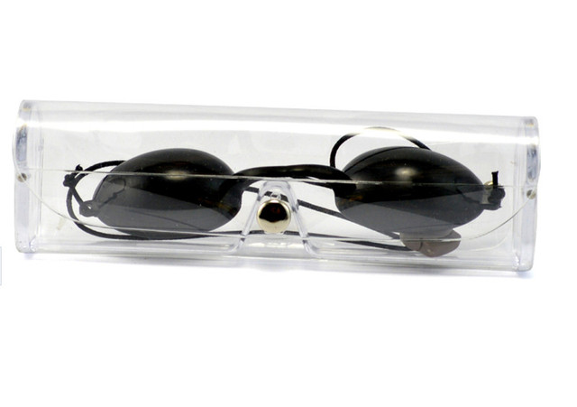 E light beauty instrument laser protective glasses blackdoll opt eyebrow hair removal shading black goggles (guest use)